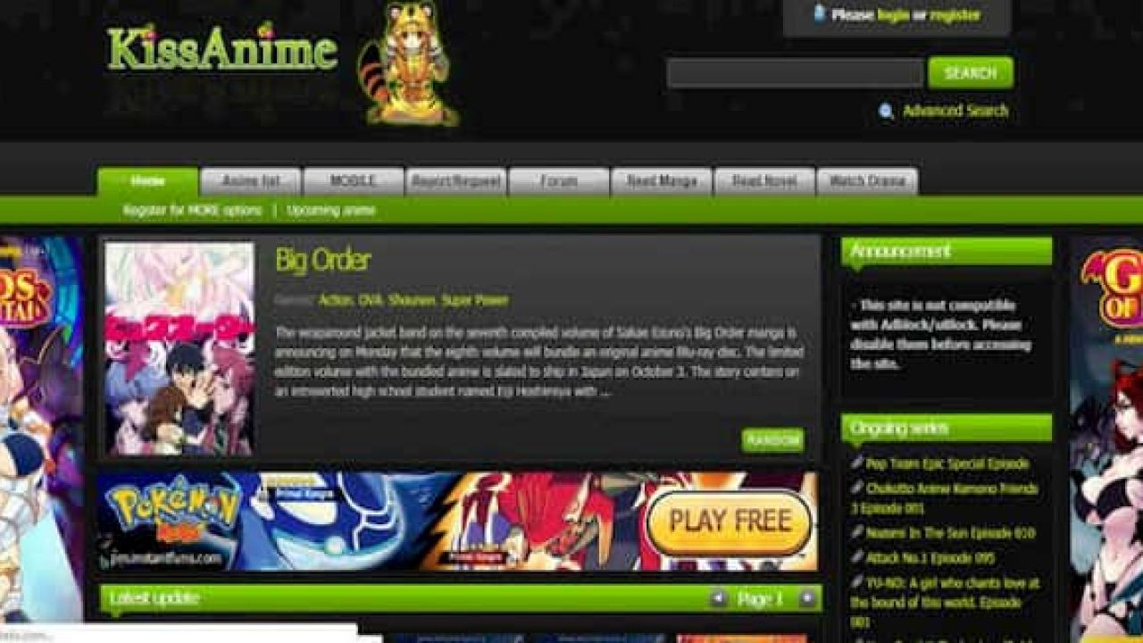 Top Free Anime Streaming Sites